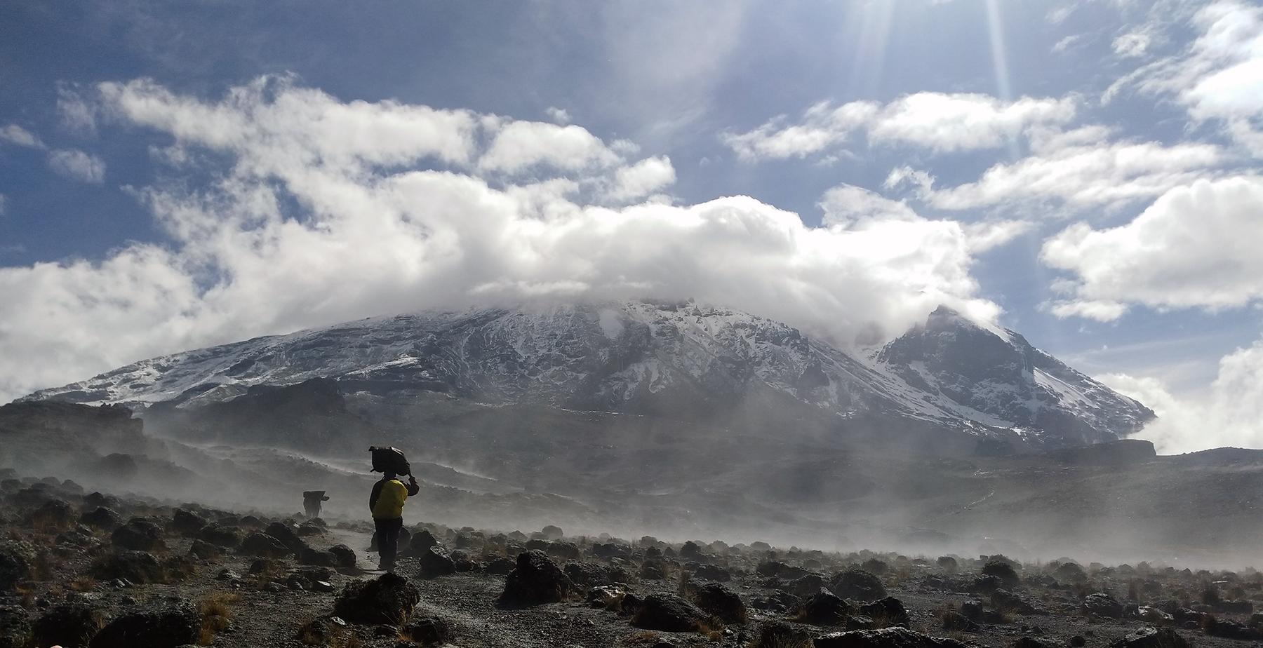 montagne Mana Kilimandjaro